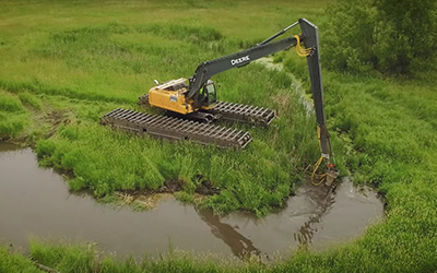 Sediment Removal in Dorn Creek